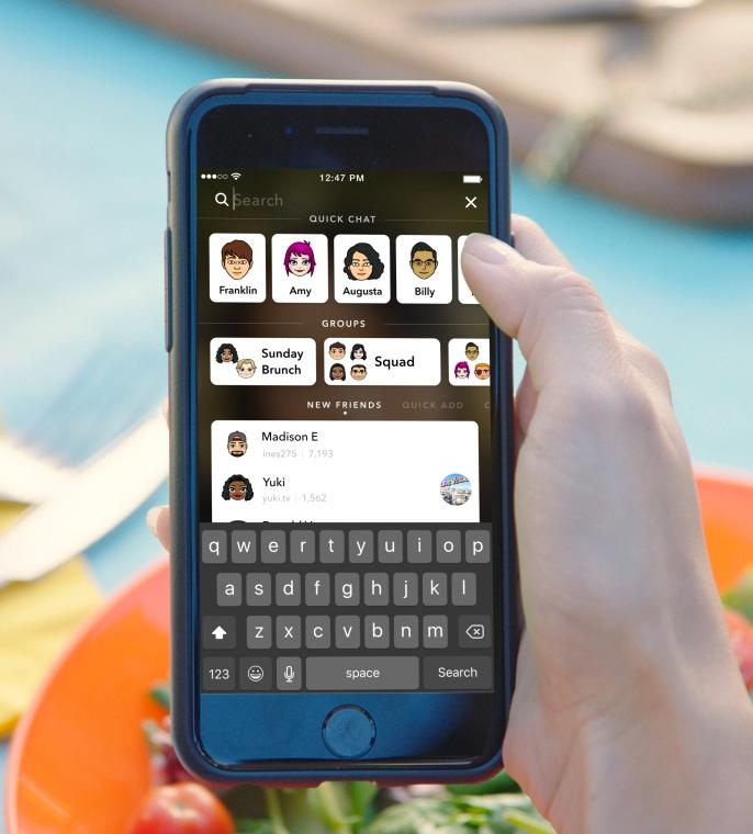 snapchats new search | Awesome Social Media by Be Awesome Digital | Alisha Ahern
