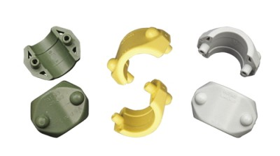 Hose parts developed in part by Art of Mass Production, a San Diego based plastics engineering company