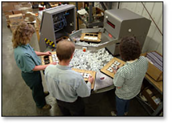 assembly, decorating, packaging, injection molding