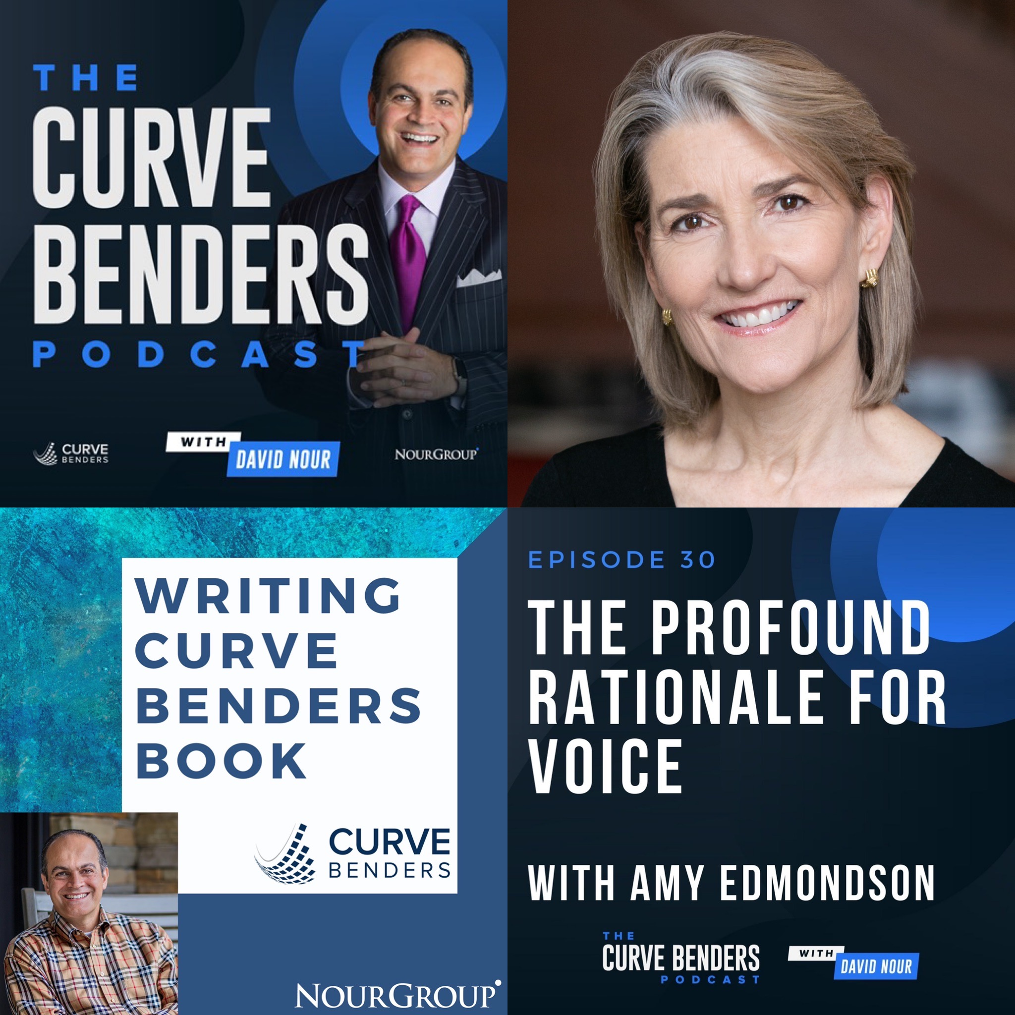 Curve Benders Podcast – The Profound Rationale for Voice with Amy Edmondson