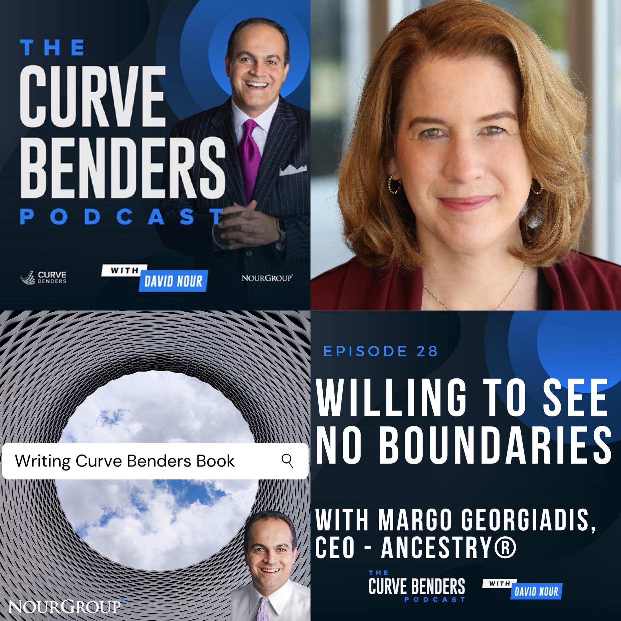 Curve Benders Podcast – Willing To See No Boundaries with Margo Georgiadis, CEO – Ancestry®