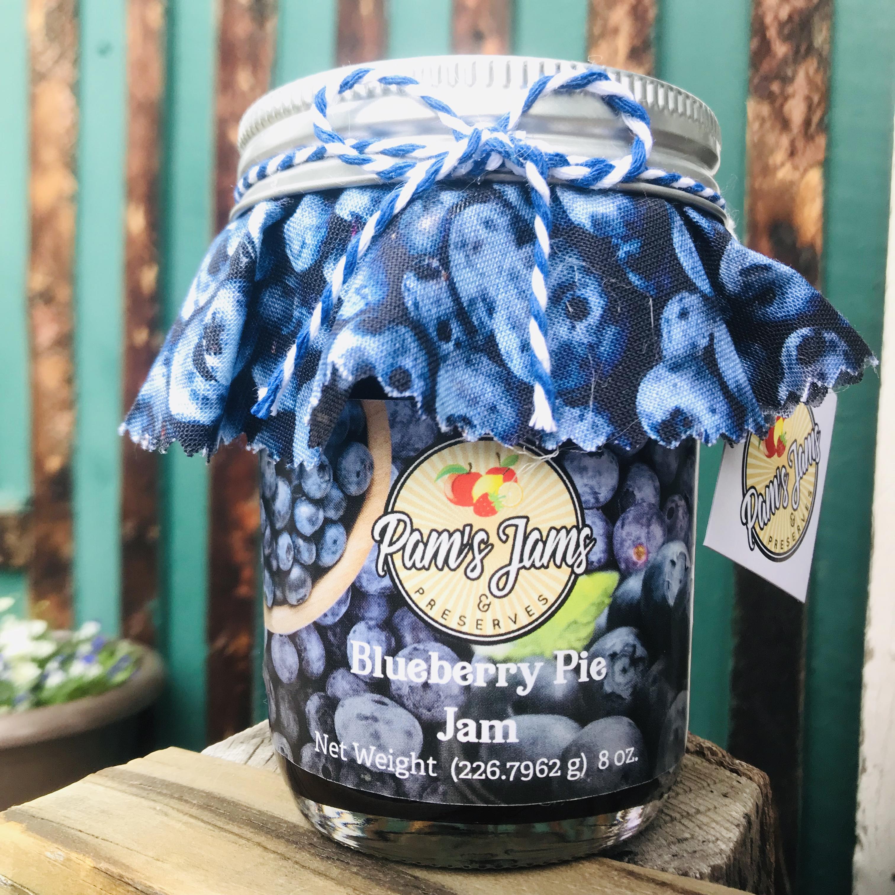 Pams-Jams-Blueberry-Pie