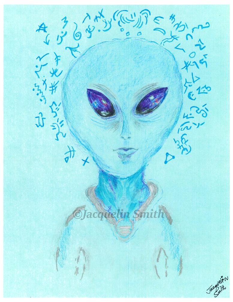 ARCTURIAN / ZETA HYBRID - Zan Tu Kai - Cosmic Portrait