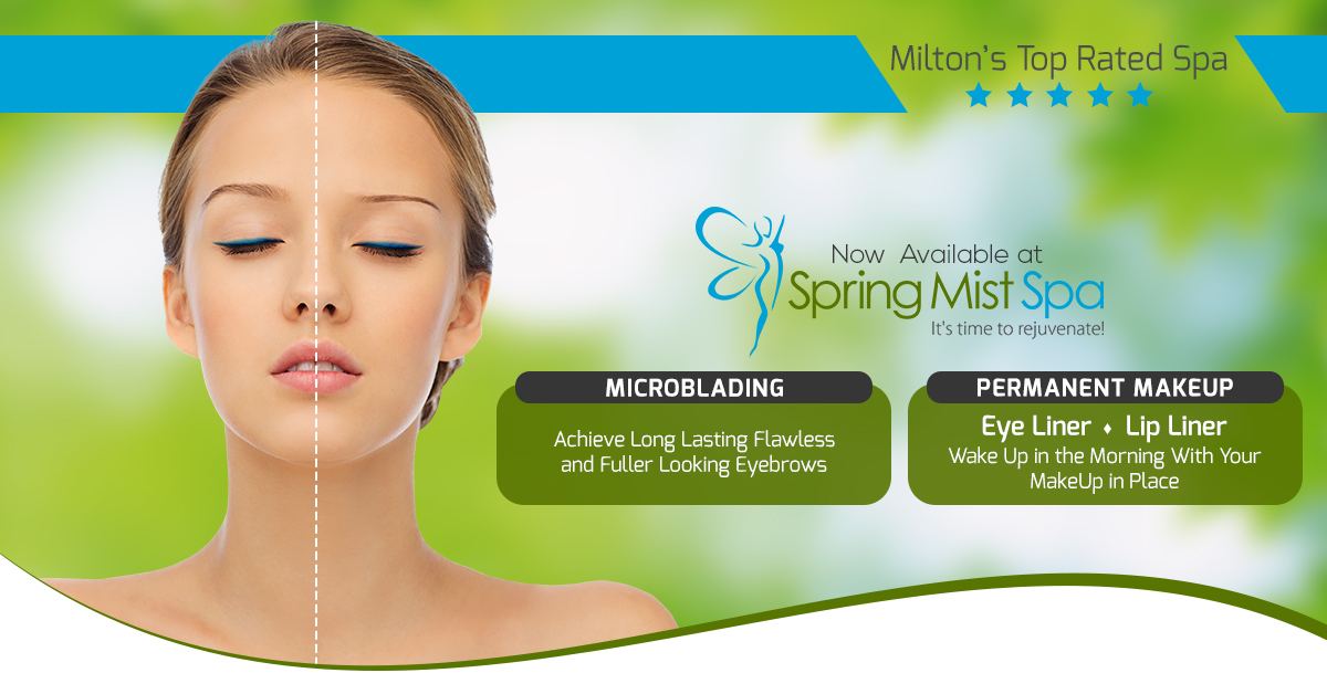 Eyebrows Microblading and Permanent Makeup at Spring Mist Spa