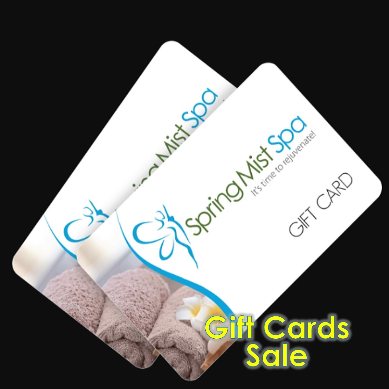 Mother's Day Gift Cards Certificates at Spring Mist Spa Milton