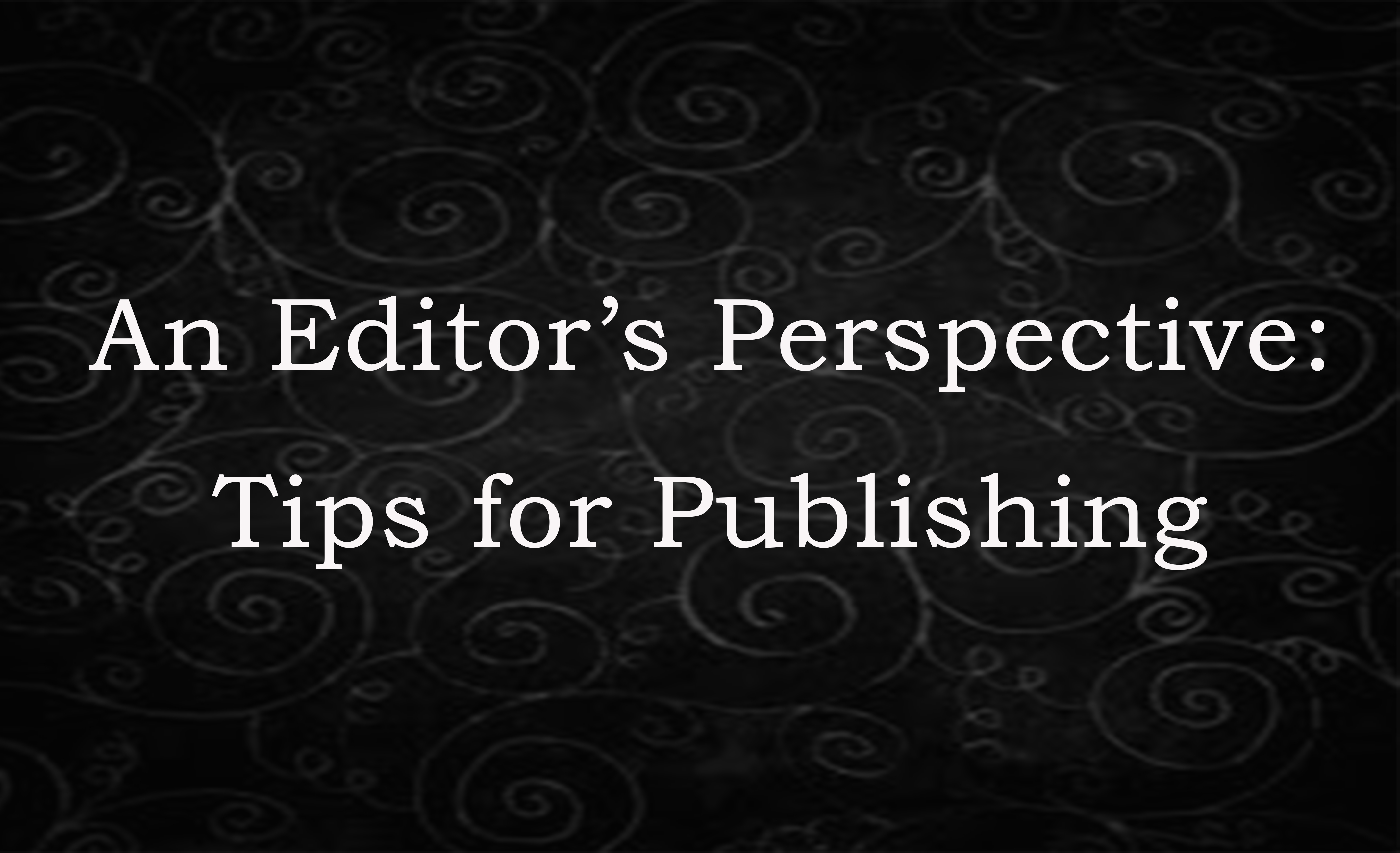 tips for academic publishing