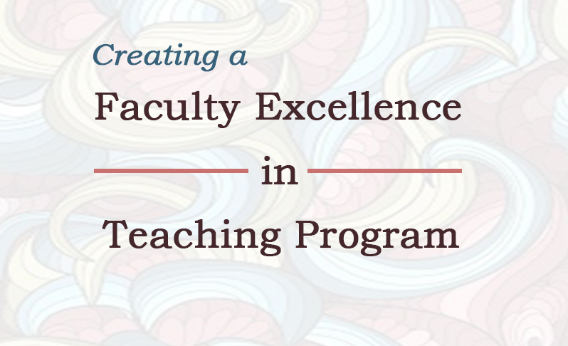 developing faculty excellence