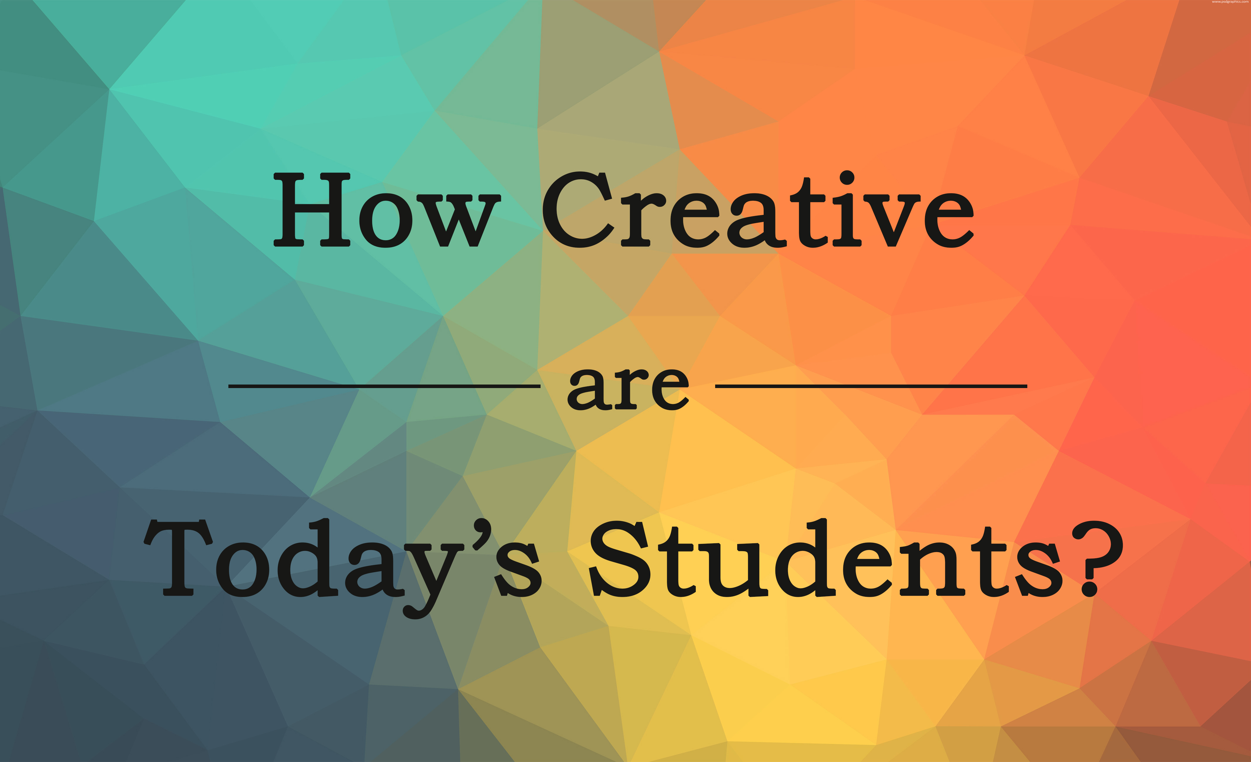 how creative are students