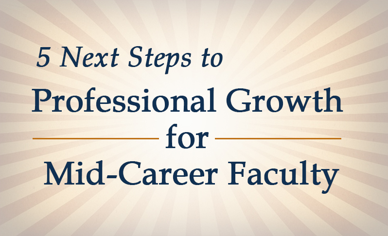 mid-career faculty professional development