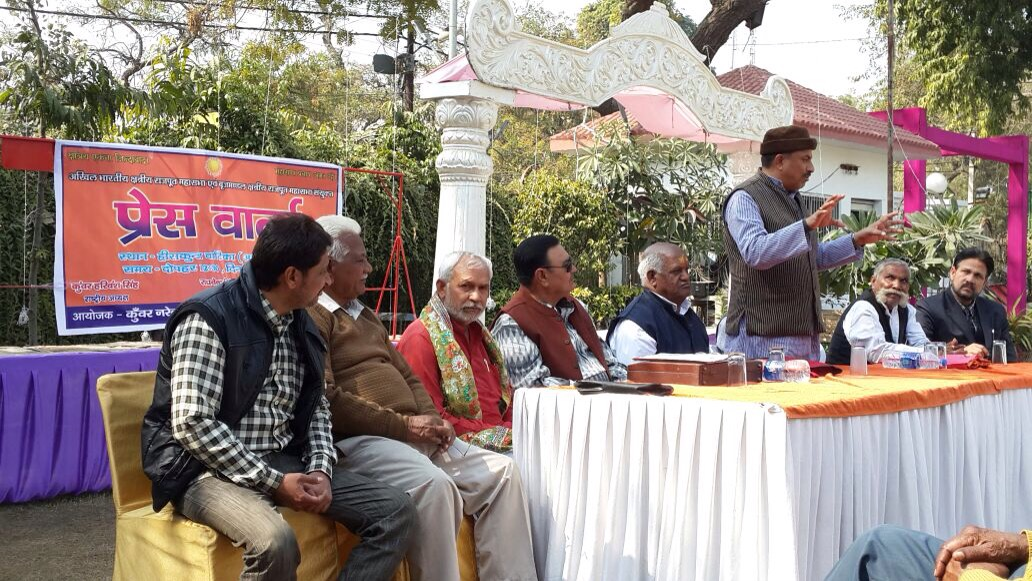 All India Kshatriyas Samaj Supports Yamuna Muktikaran Abhiyan