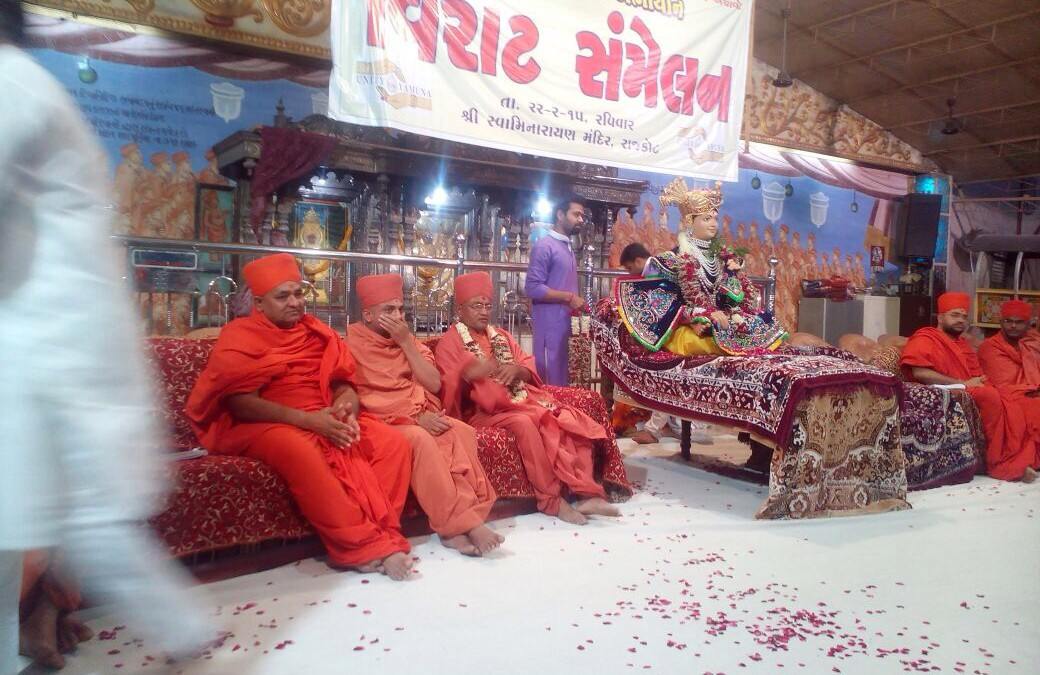 Swami Narayan Saints Asked Their Followers to Support 15 Mar  Padyatra