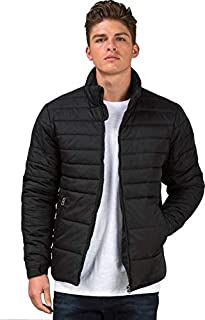 Ben Martin Men's Quilted Jacket-(BM-JKT-FS-18012-BLK) in garments