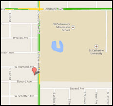 Highland (St.Paul) Google Map Location