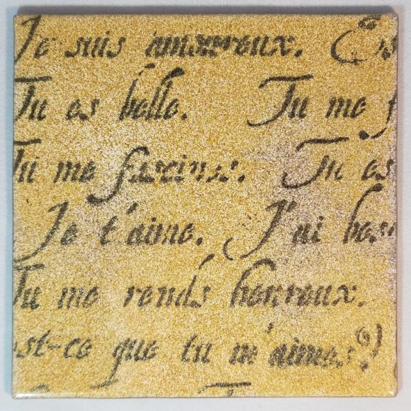 gold perisian writing