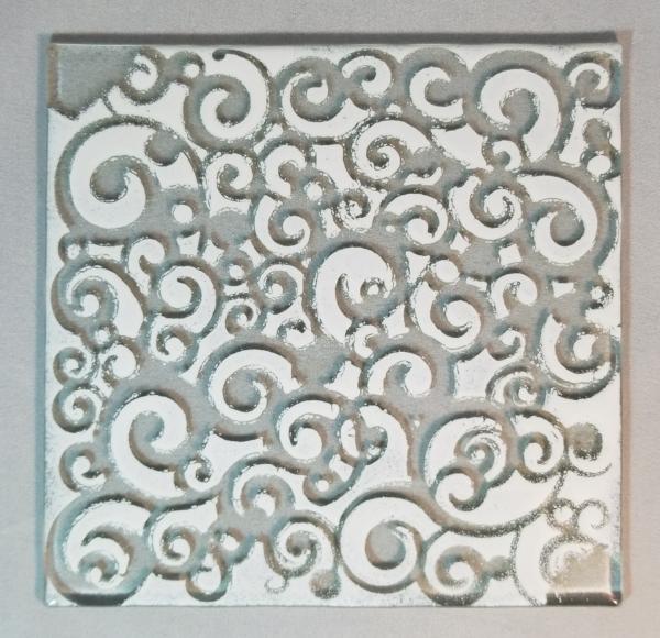 white swirls