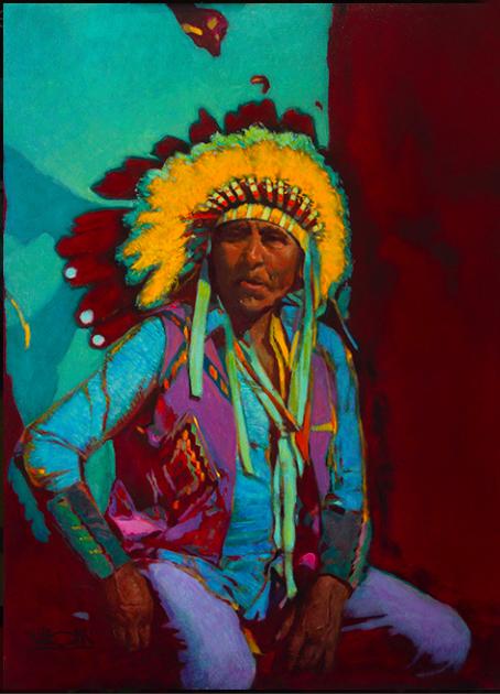 Montgomery-Lee Fine Art   Blackfoot