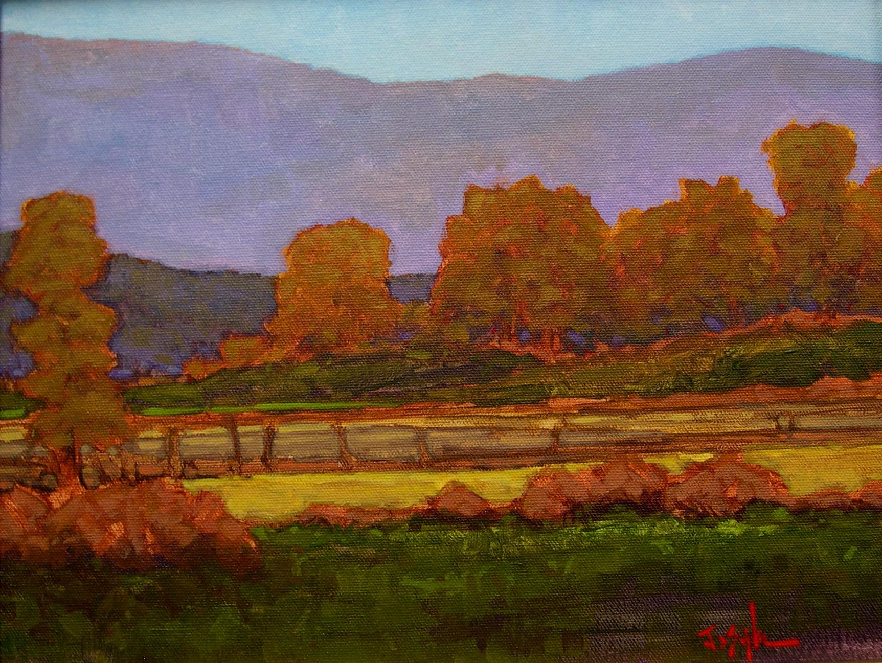 Montgomery-Lee Fine Art | Farming Fields