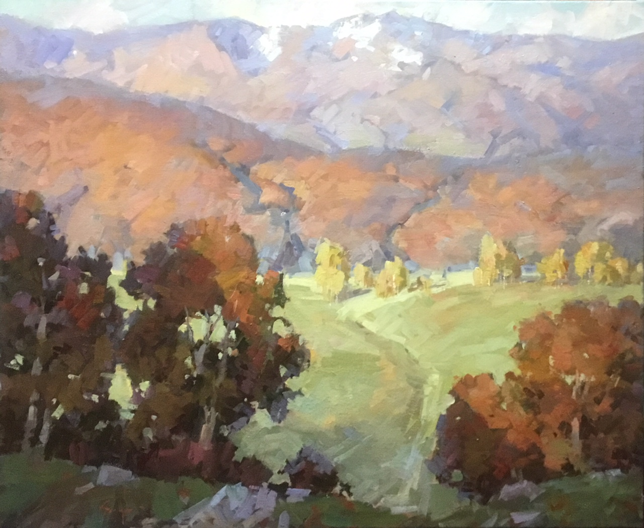 Montgomery-Lee Fine Art | Jared Sanders - Autumn in Huntsville