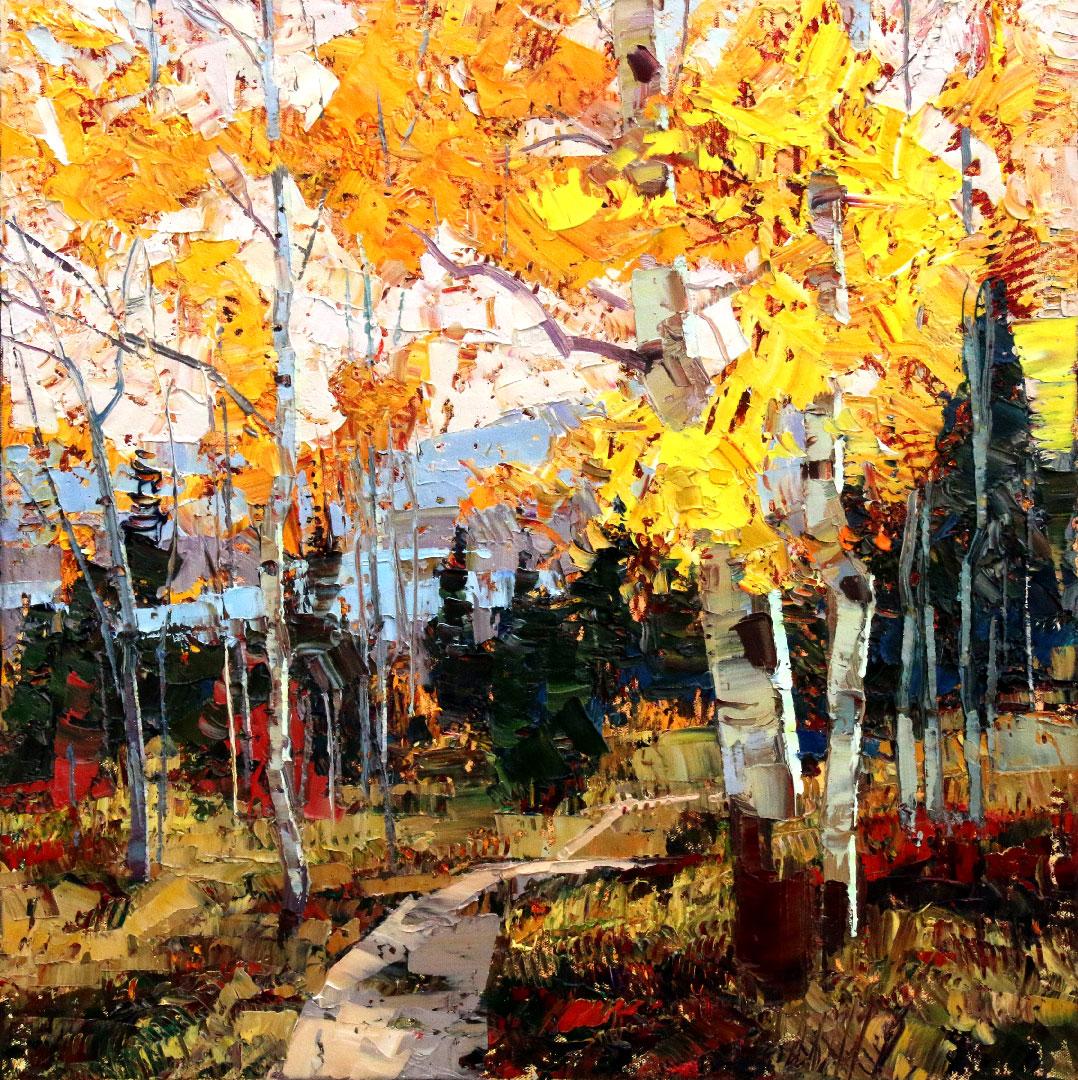 Montgomery-Lee Fine Art | Autumn Path
