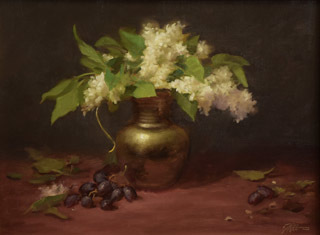 Montgomery-Lee Fine Art   Lilacs and Brass