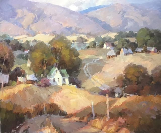 Montgomery-Lee Fine Art | Cache Valley Colors