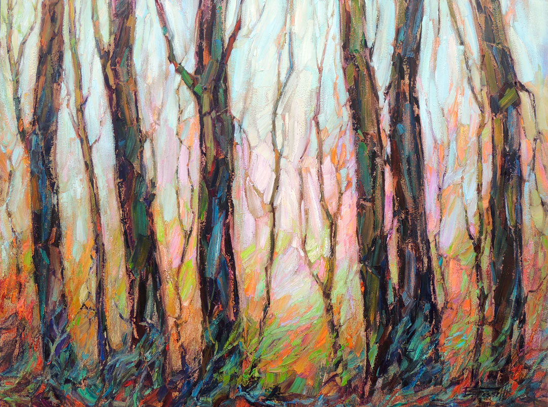 Montgomery-Lee Fine Art | My Love Affair with Trees