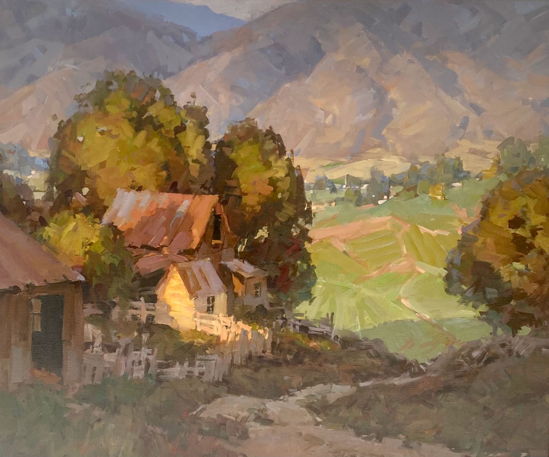 Montgomery-Lee Fine Art | Cache County Farm