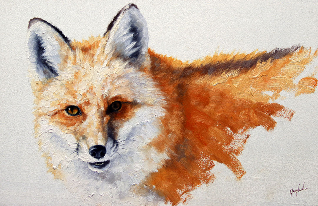 Montgomery-Lee Fine Art | Furry Fox