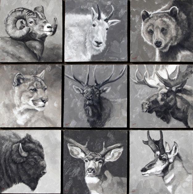Montgomery-Lee Fine Art | Head Study Set