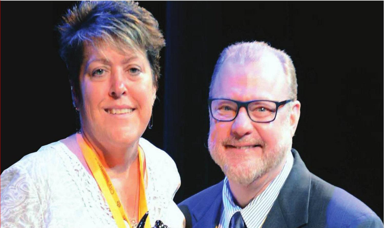 Community Ambassadorship Award to SWE member Angela Berry