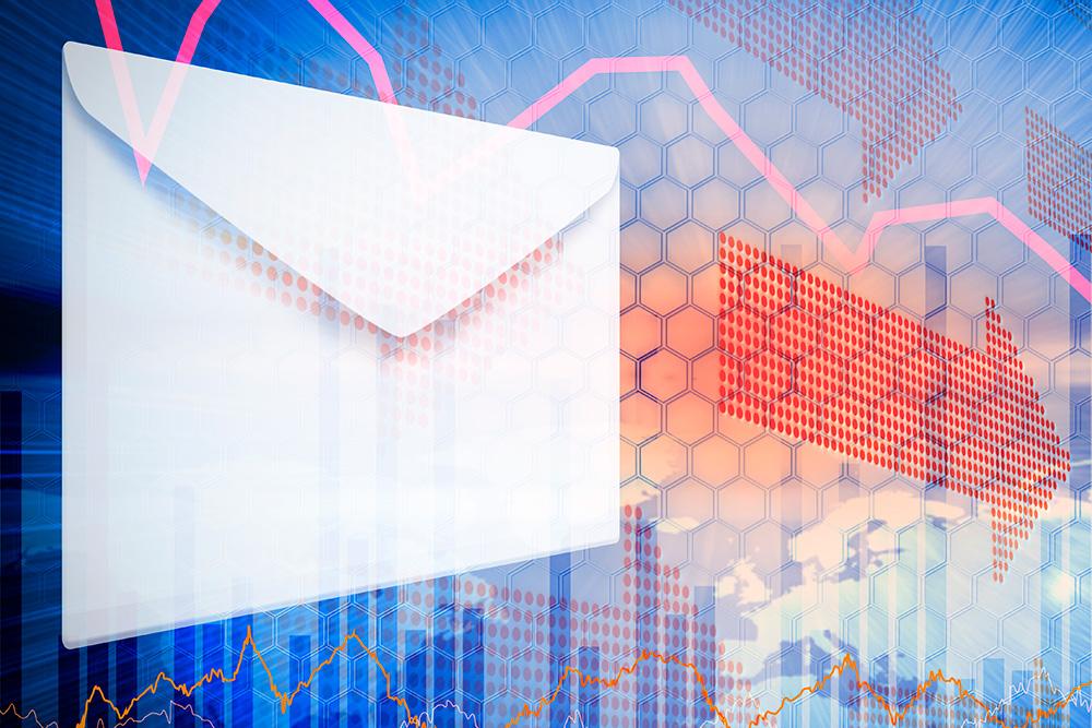 Envelope soaring for direct mail