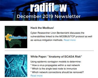 Radiflow Newsletter, Year-End 2019