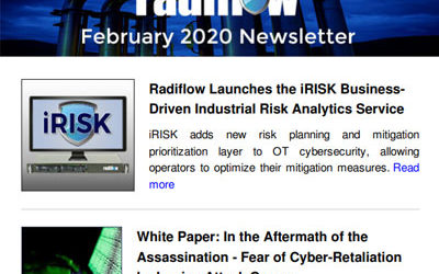 Radiflow Newsletter, February 2020