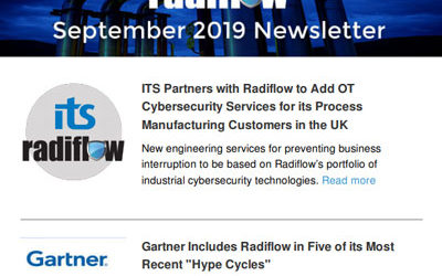 Radiflow Newsletter, Sept 2019