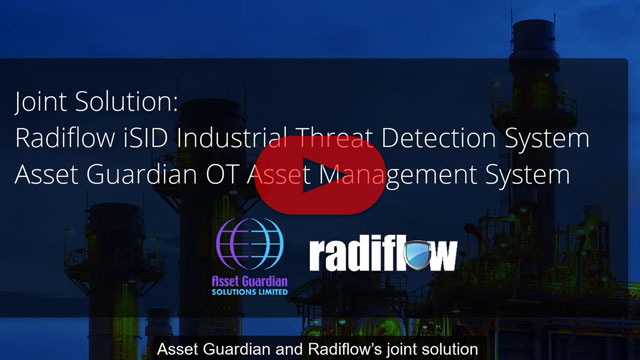 Joint Solution: Radiflow iSID and Asset Guardian Industrial Asset Management