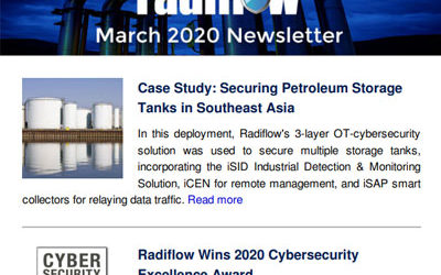 Radiflow Newsletter, March 2020