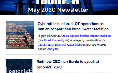 Radiflow Newsletter, May 2020