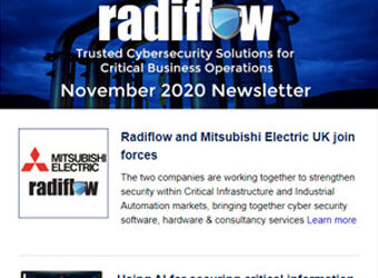 Radiflow Newsletter, November 2020