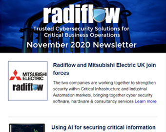 Radiflow Newsletter, November 2020