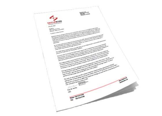 Securicon endorses the 3180 Security Gateway as a NERC CIP enabler
