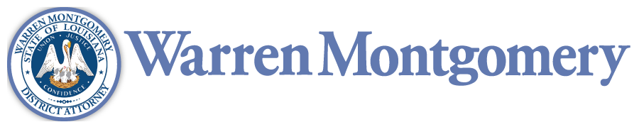 District Attorney Warren Montgomery 22nd Judicial District, Louisiana