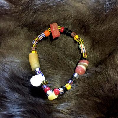 Striped-beads