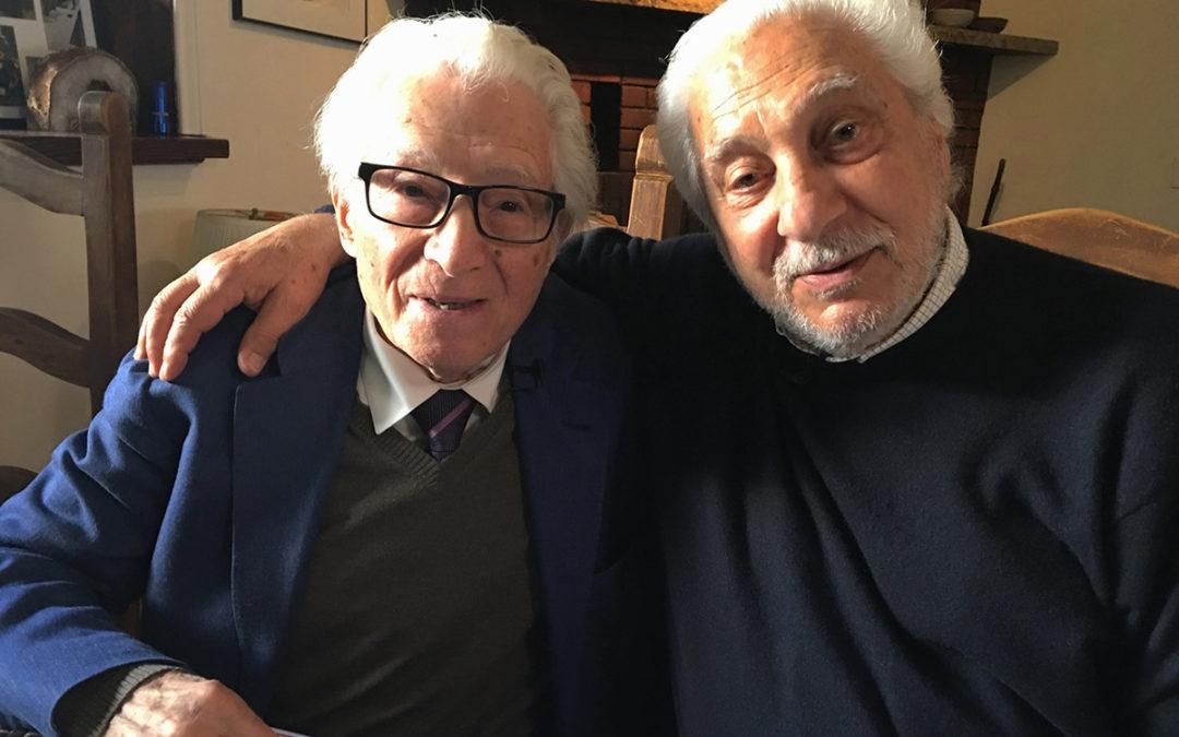 Mentors – Tony and Santi