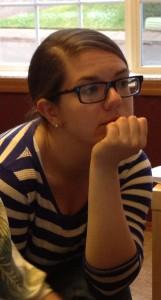 "Sarah's ""thinking face"""