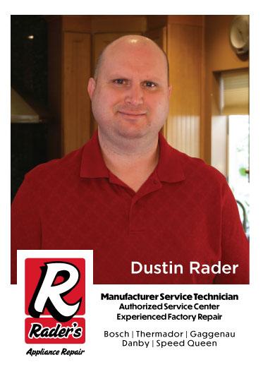 Owner Dustin Rader
