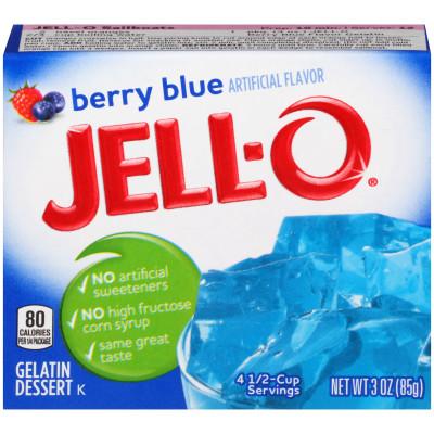 jello blue