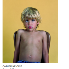 Cathy Opie & Performance: The Theater of the Portrait