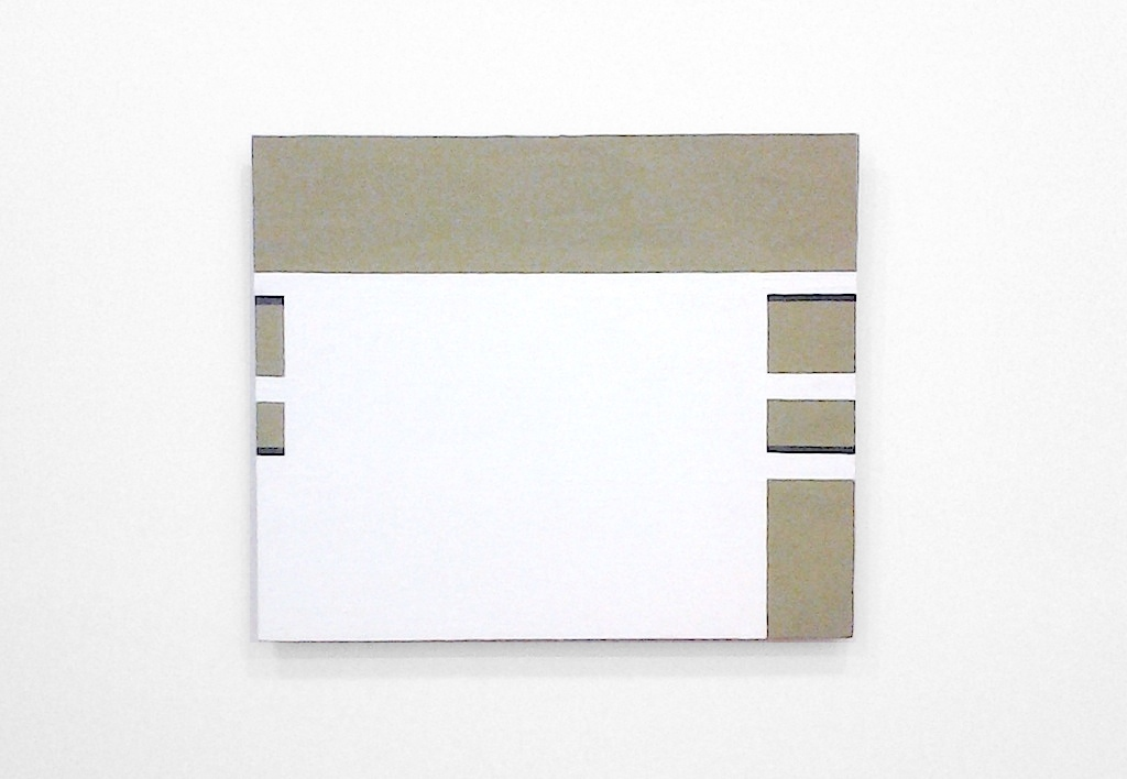Robert Storr, Suzy Fishing, 2002-2012, Flashe on canvas, Image courtesy of the artist