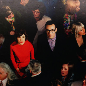 ALEX PRAGER AT LEHMANN MAUPIN AND IN THE NYC SUBWAY