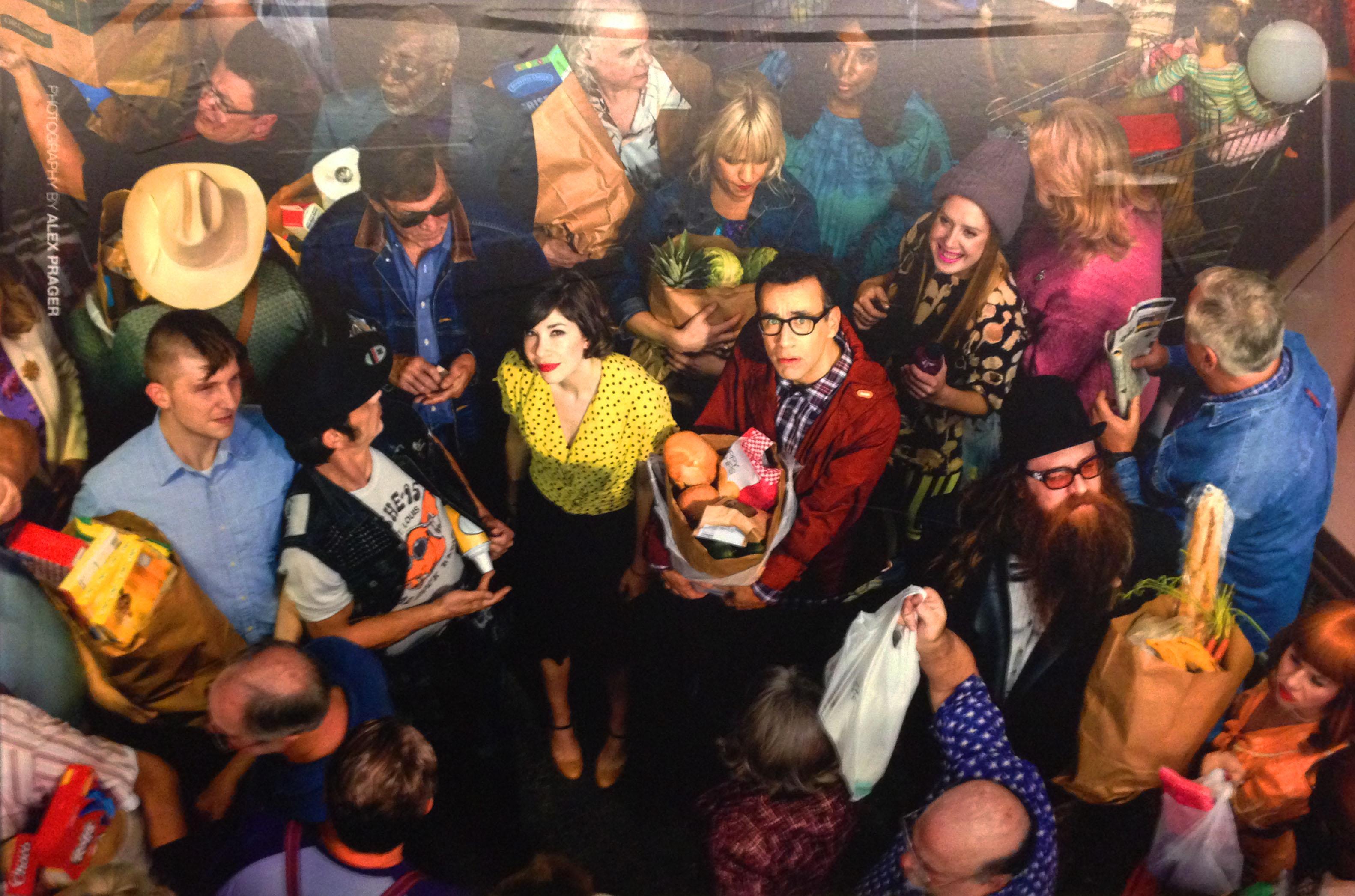 Portlandia subway advertisement, Photographed by Alex Prager, 2014